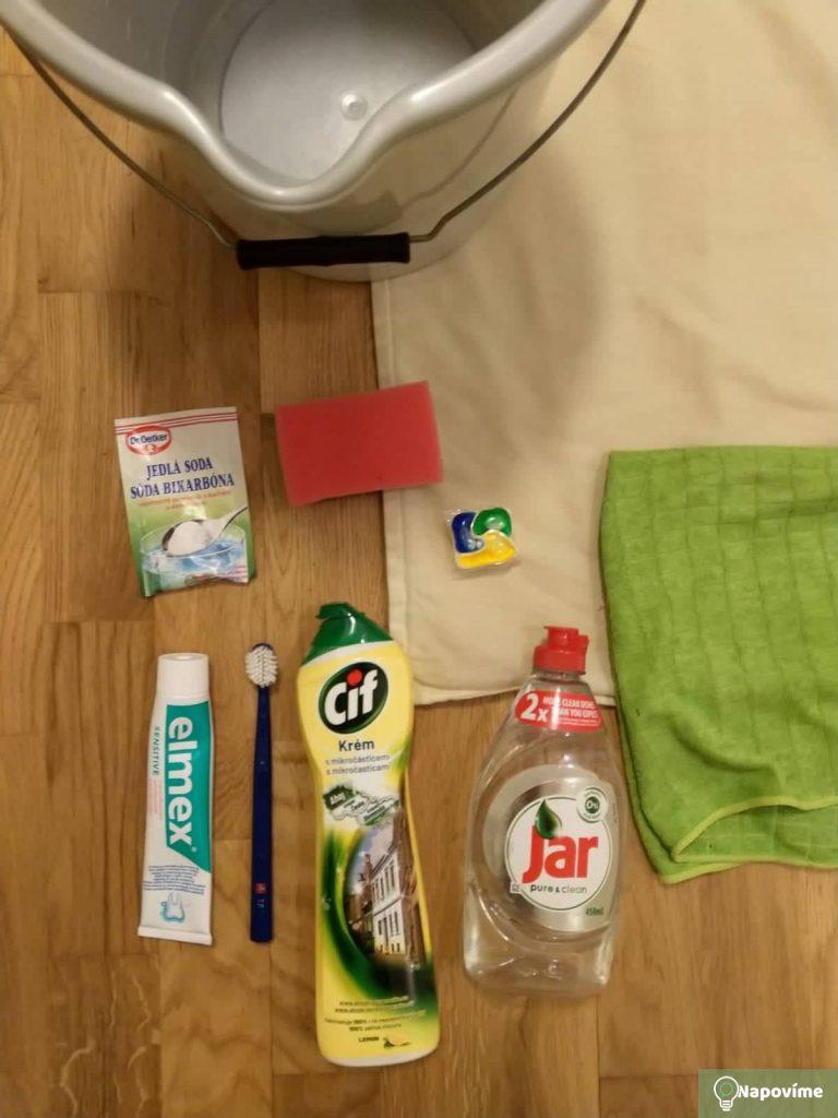 Příprava čistících prostředků