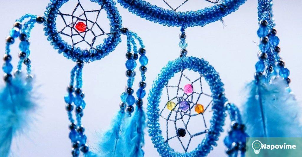 Modrý lapač snů
