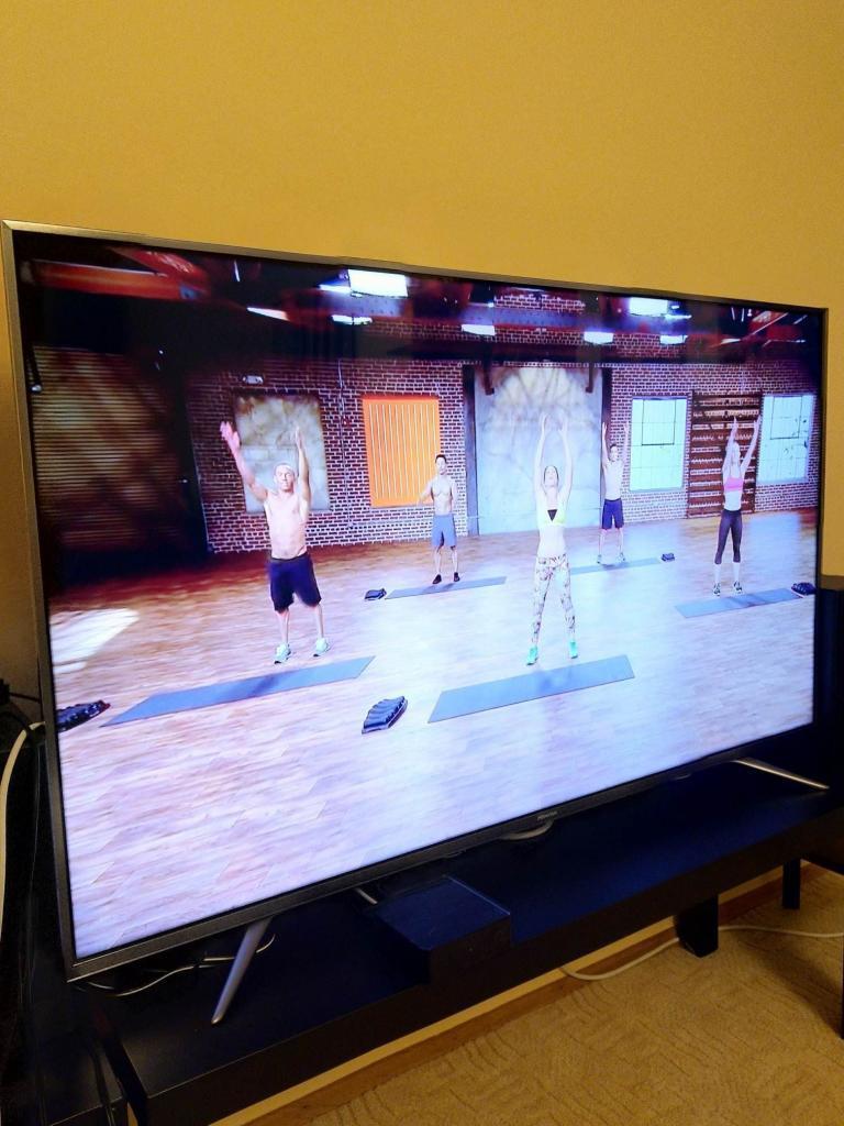Cvičení u televize