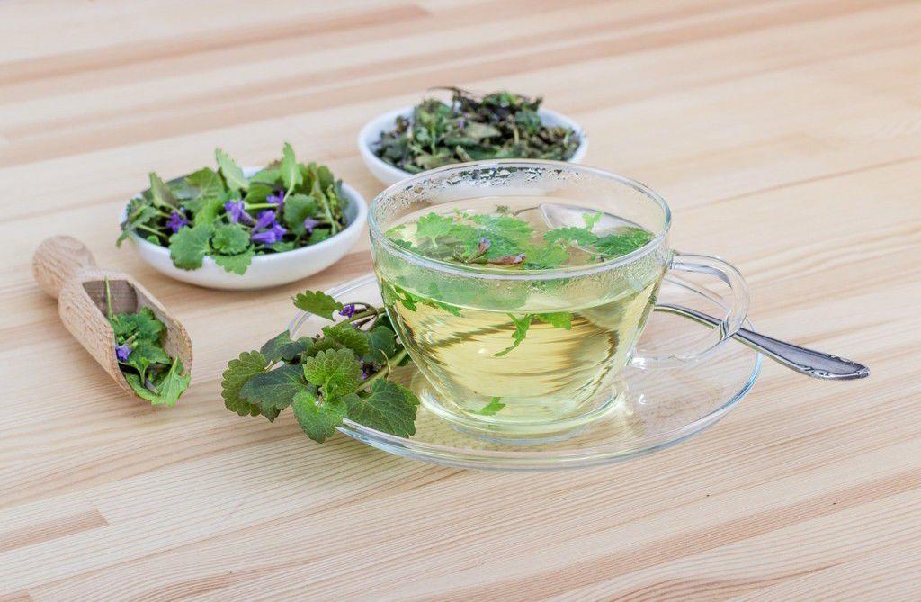 Bazalkový čaj