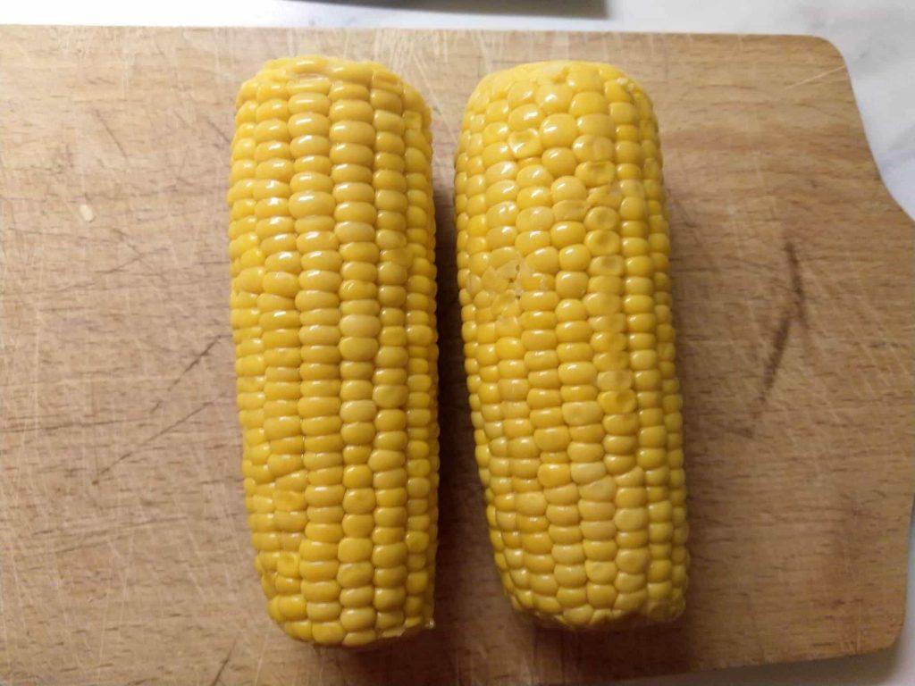 Připravené kukuřice