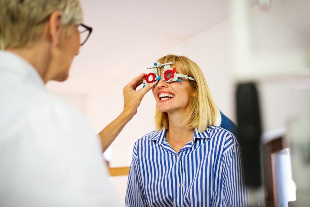Návštěva optometristy