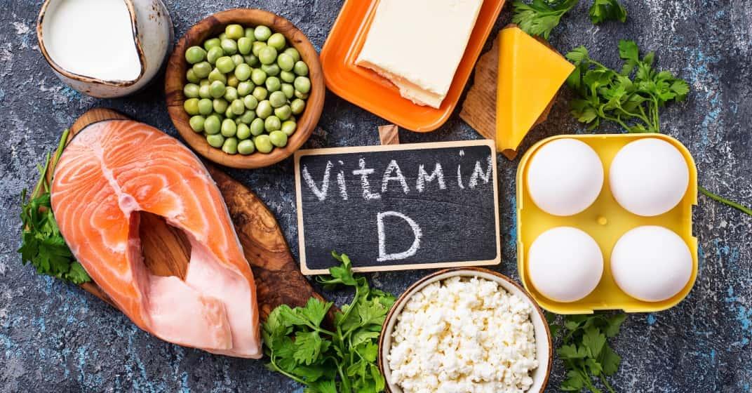 Vitamín D a potraviny, kterého obsahují