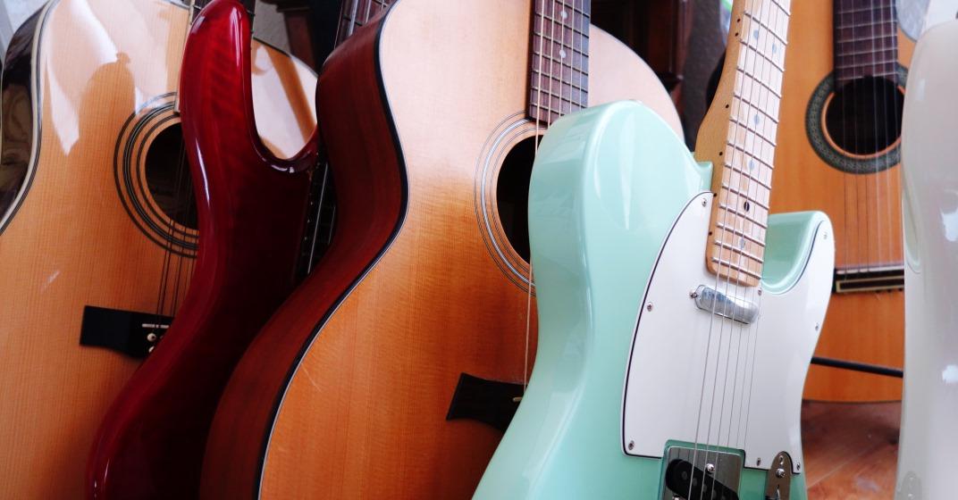 výběr kytar